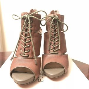 USED - BCBGeneration Lace Up Booties